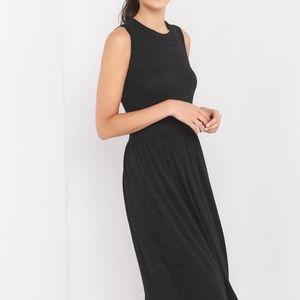 Gap Women's Black Softspun Open Back Dress Size M